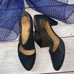 Coclico SARAH Blue Leather Pump Heels Shoes 39 8.5